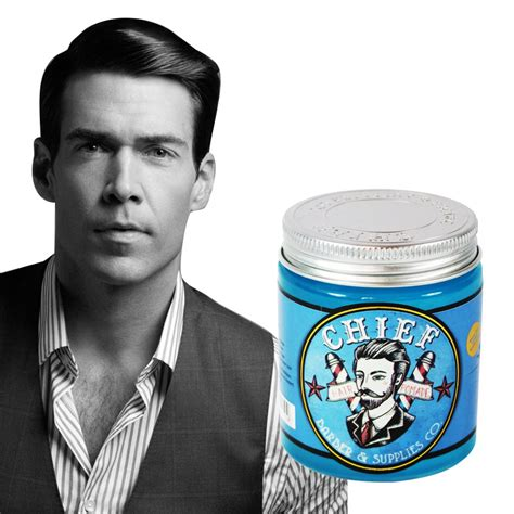 Chief Pomade Blue chief pomade blue waterbased 4 2 oz pomade lokal free