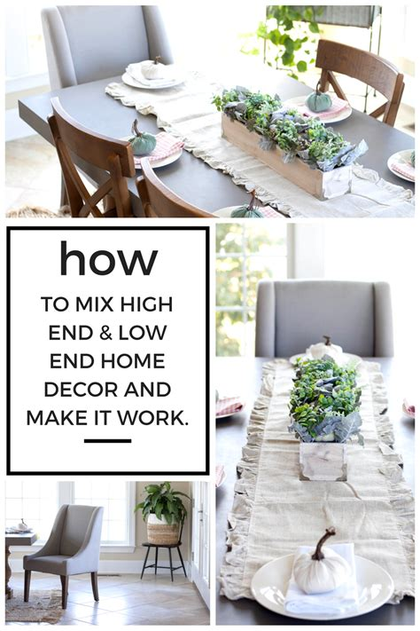 high end home decor i love you more than carrots how to mix high end and low