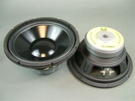 Speaker Cannon 10 Inch excellent quality 10 quot inch woofer 93 db 8 ohms 225 watts