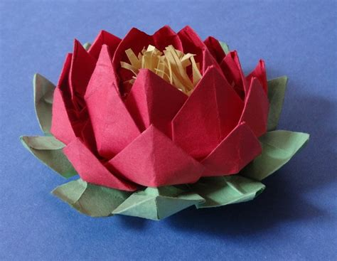 Origami Flower With A4 Paper - attractive origami flower with a4 paper