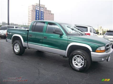 2003 dodge dakota 4x4 2003 dodge dakota slt cab 4x4 in timberline green