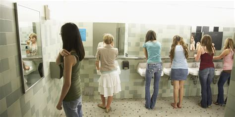 high school girls bathroom our child is a girl huffpost