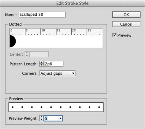 line pattern fill indesign how to create objects with scalloped edges in adobe