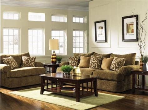 what color walls curtains and carpets blend with dark green and tan living room sets modern home design ideas