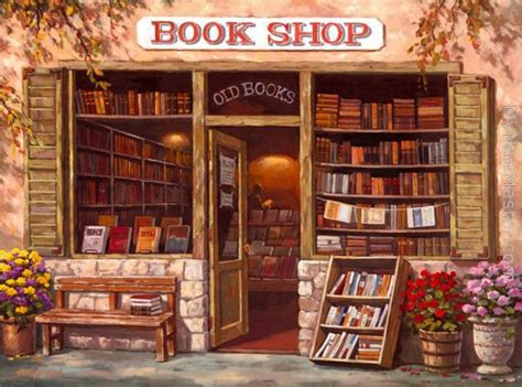 sung book shop painting