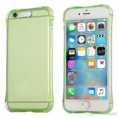 Iphone 7 Plus Soft General Crashproof flash up light remind lncoming led crashproof clear soft