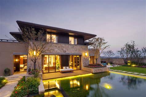Residential Building Plans 高档别墅建筑设计效果图高清图片 素材中国16素材网