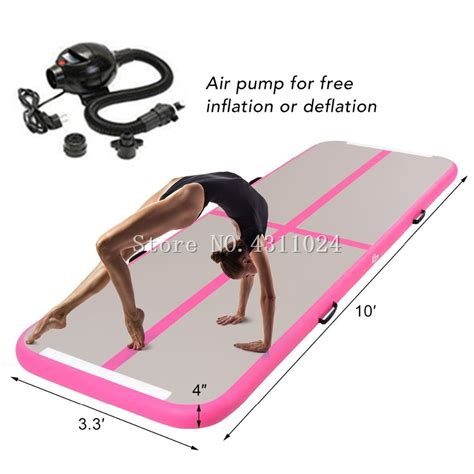 10 x 3 mat air track tumbling mat 10 x 3 3 x 4 quot air track home
