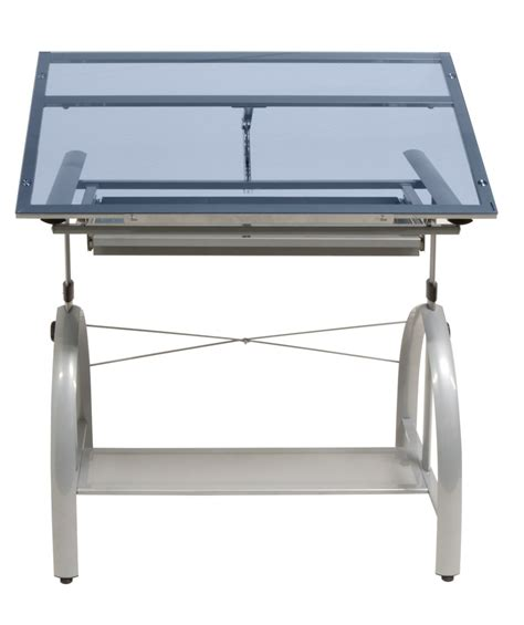 studio designs avanta drafting table avanta glass top drafting table by studio designs 40 00