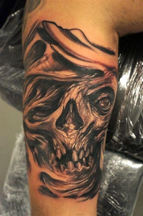 agony tattoo skull in agony by graynd tattooimages biz