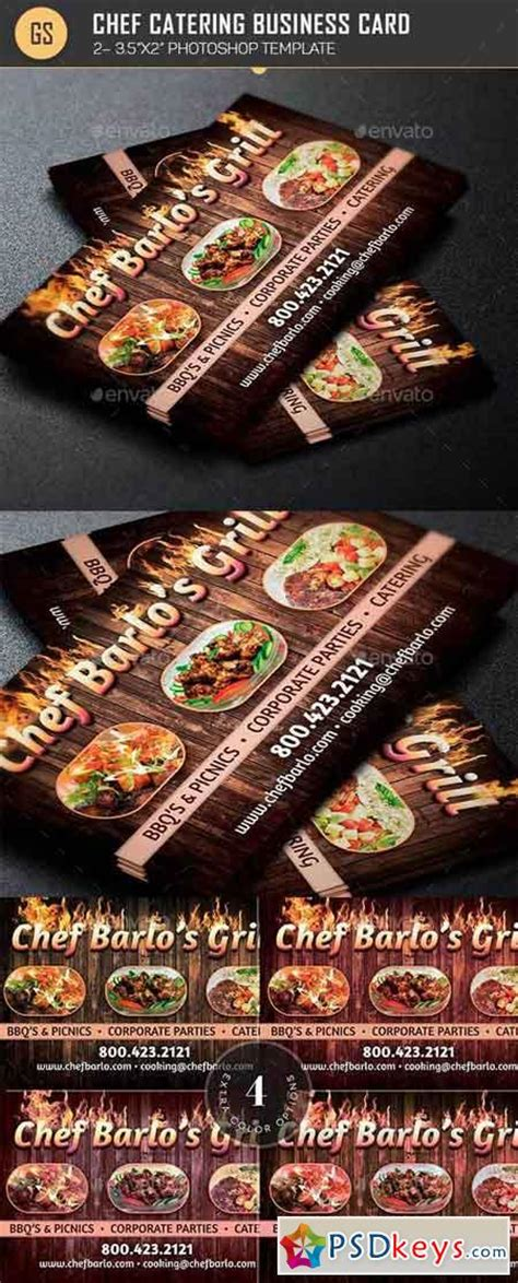 chef business card template photoshop free photoshop vector stock image via torrent