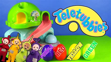 teletubies magic house names and colors of teletubbies