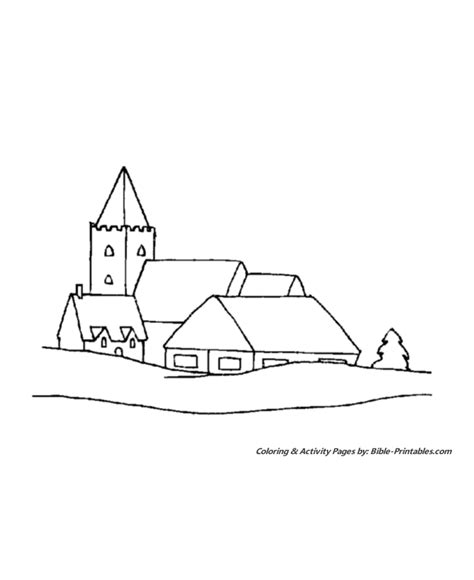 snow village coloring page snow scene coloring new calendar template site
