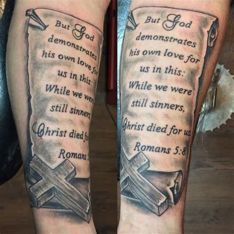 scripture tattoos on forearm bible verse design ideas for you