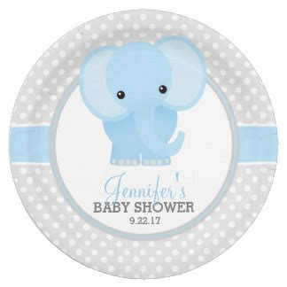 Blue Elephant Baby Shower by Blue Elephant Baby Shower Home Decor Pets Products