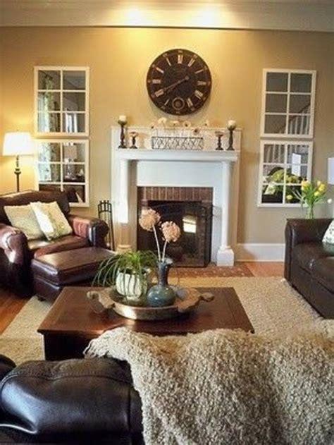 gelbe und braune wohnzimmer ideen ein wohnzimmer in braun wirkt einladend und wohnlich