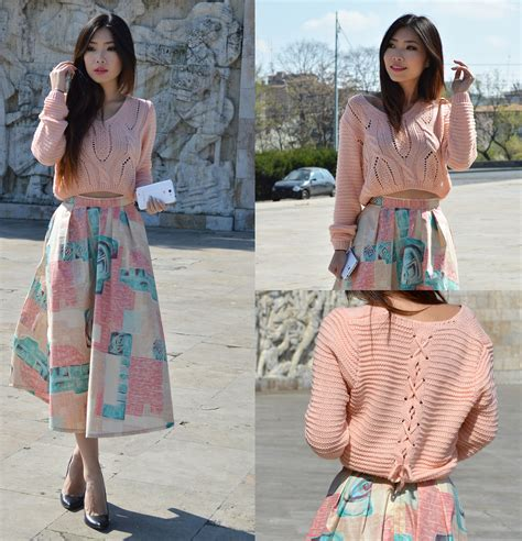 Casnadra Dress Burberry Pink Quailhijab y liu frontrowshop cropped sweater wear2day