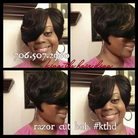 short weave bob short bob weave natural relaxed weaved pinterest