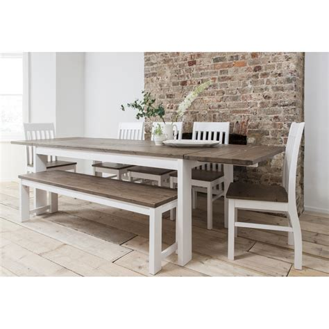 dining table with chairs hever dining table with 5 chairs bench noa nani