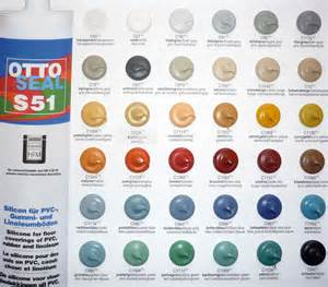 silicon color otto chemie ottoseal s51 silicone sealant colours