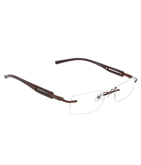 idee mens square rimless eyeglasses buy idee mens square rimless eyeglasses at low