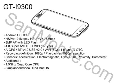 Hp Samsung S3 Gt 19300 Buatan Korea galaxy s3 service handleiding en afbeelding uitgelekt