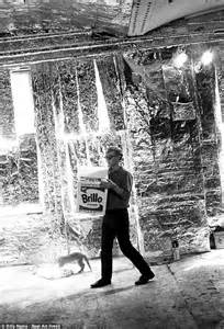 factory andy warhol 0714872741 photos of pop artist andy warhol s new york city studio the factory daily mail online