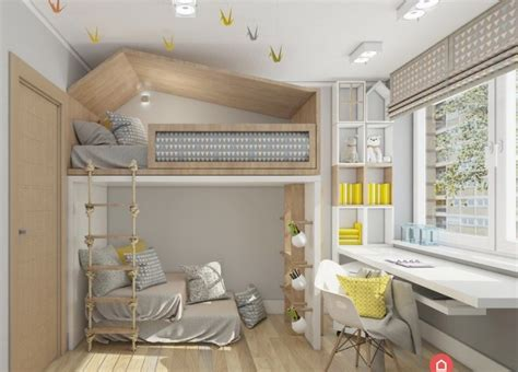 Apartment Bedroom Ideas loft bed mommo design
