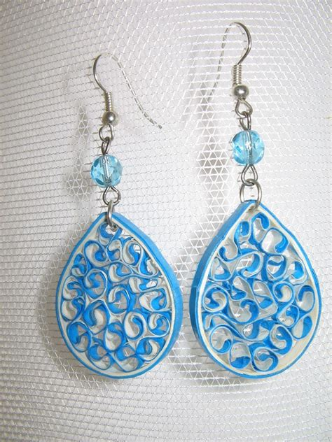 Paper Craft Paper Quilling Handmade Jewelry Earrings - 356 best quilling jewelry images on quilling