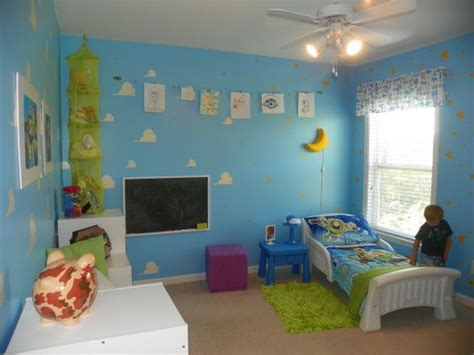 toy story bedroom ideas toy story room paint clouds on wall diy projects i