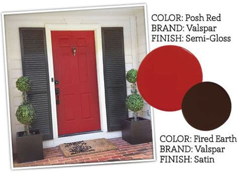 paint colors front door of 7th house on the left door posh valspar semi glass and