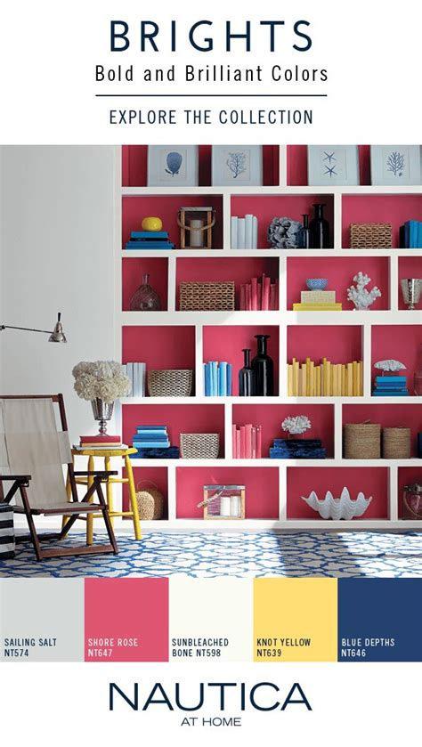 bold paint colors meaningful spaces 99 best nautica at home paint collection images on