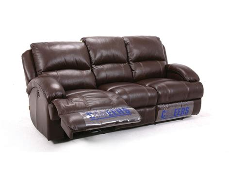 Giovani Leather Living Room Leather Dual Reclining Sofa Leather Dual Reclining Sofa