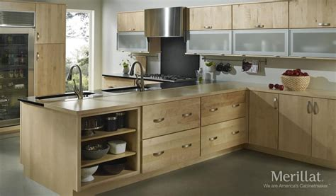 merrilat kitchen cabinets merillat masterpiece 174 epic in maple natural merillat