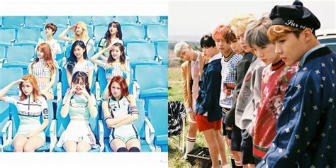 twice and bts bts and twice are on youtube s top 100 music charts