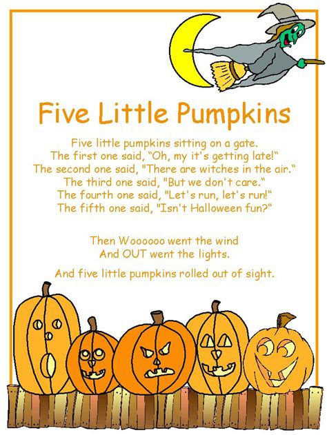 halloween poems imagen de http www dltk teach com