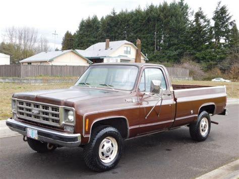 1978 chevy 3 4 ton 4x4 truck 1978 chevy cheyenne 3 4 ton 4x4 350 v8 automatic cer