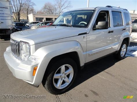 2008 jeep liberty silver 2008 jeep liberty limited 4x4 in bright silver metallic