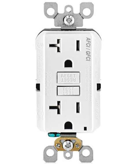 smartlockpro dual function afcigfci receptacle  amp