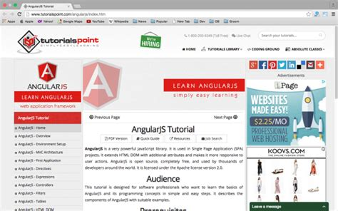 xss tutorial point 18 best resources and tutorials to learn angularjs devzum