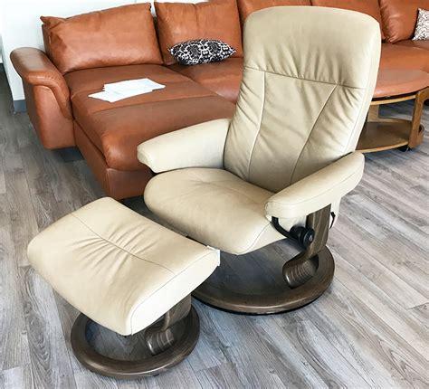 light grey recliner chair stressless president light grey leather recliner