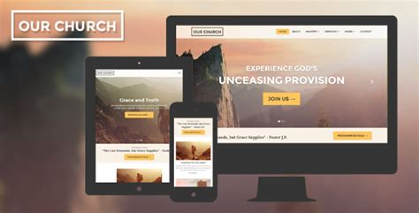 Church Ministry Website Templates 28 Free Church Website Themes Templates Free Premium Templates Ministry Website Templates