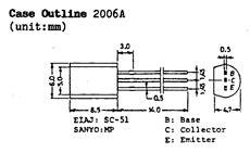 transistor d313 pinout transistor d438 pinout 28 images d438 datasheet vcbo 100v 0 7a npn transistor sanyo d438