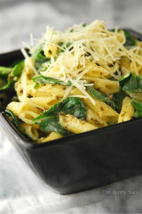 pesto pasta salad recipe summer salad recipe spinach pesto pasta salad