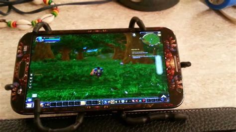 wow on android how to play world of warcraft on galaxy note 2