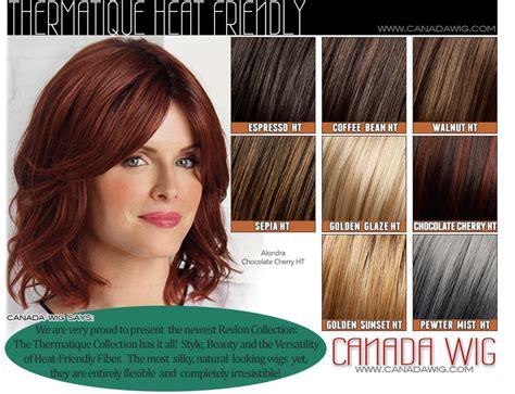 revlon hair color chart revlon wigs color charts