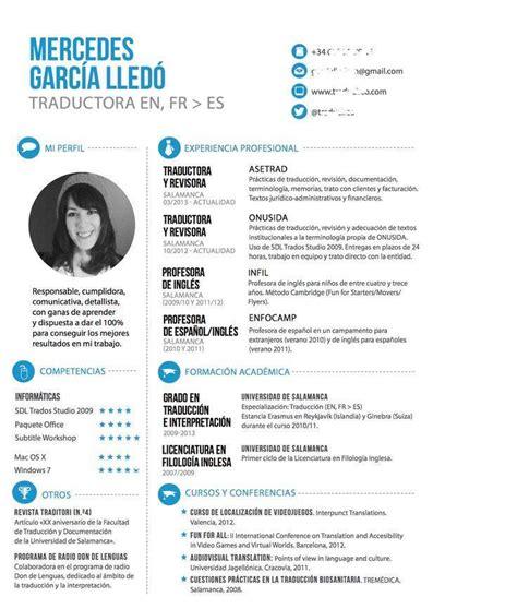 Modelo De Curriculum Vitae Financiero 10 Modelos De Plantillas Creativas Y Originales Para Crear Tu Curriculum