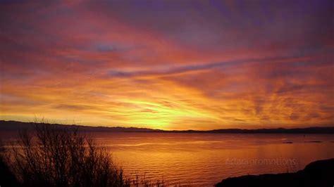 best victoria bc sunset video dallas road beacon hill