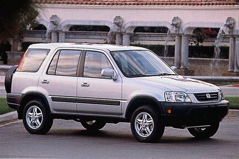 honda jeep 2000 1997 01 honda cr v consumer guide auto