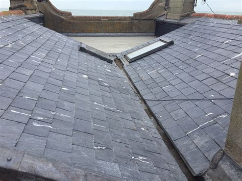 Flat Roof Installation Recent Installation Flat Roof Balcony With Slate Roof